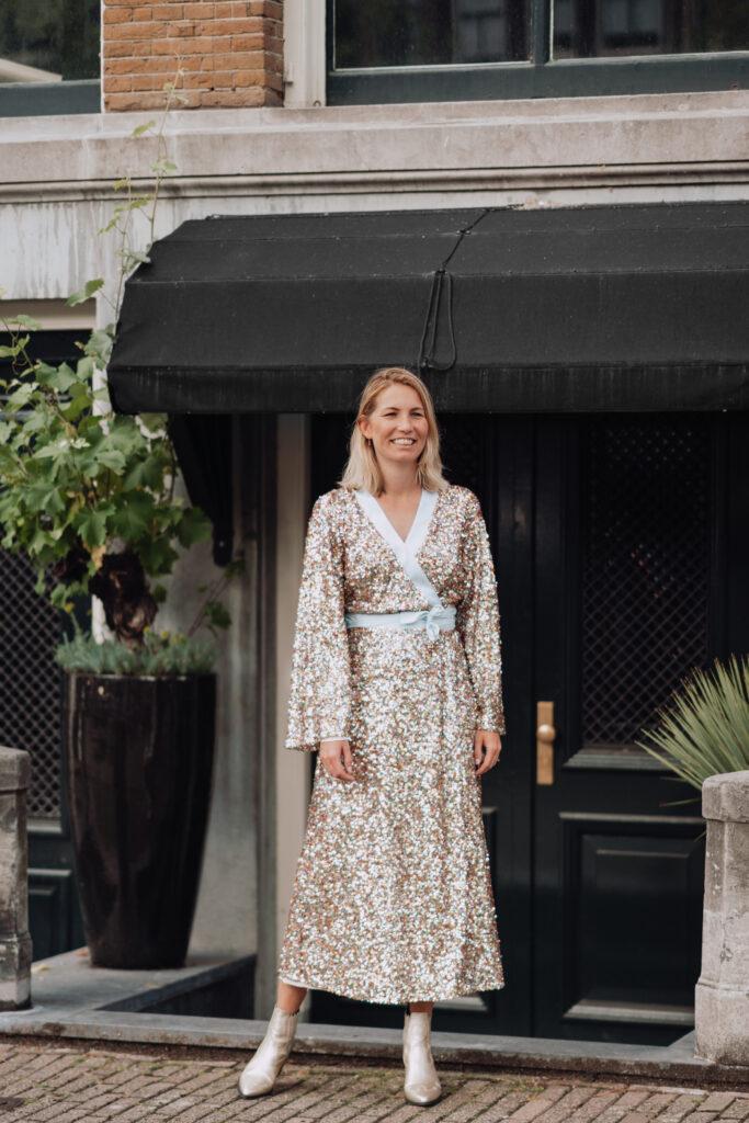 Glitterjurk Franks Londen Iconic Wardrobe