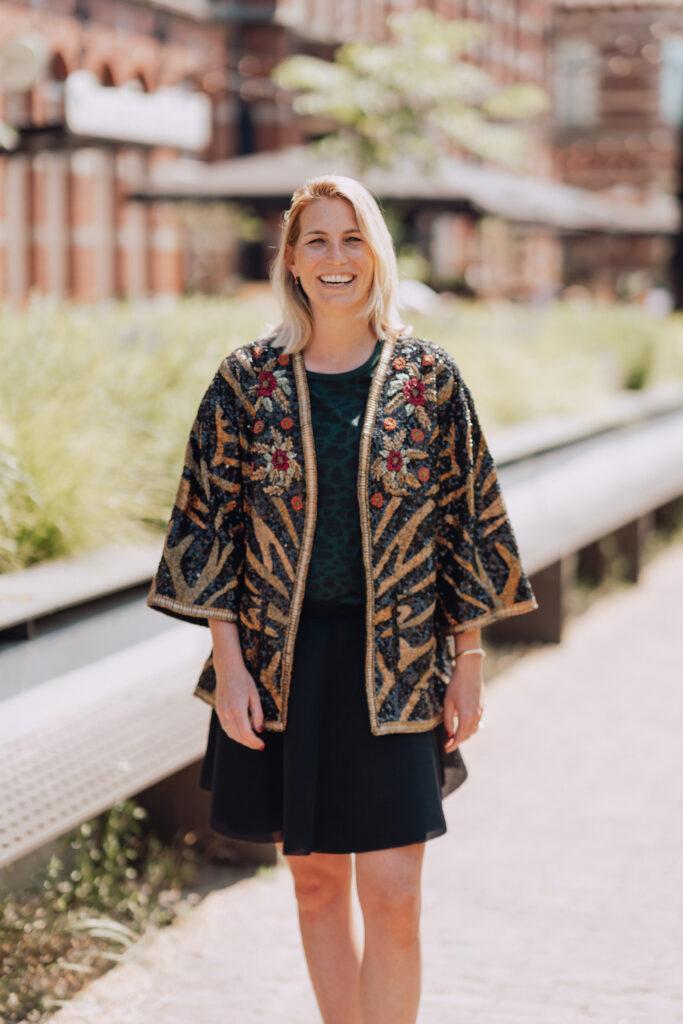 Glitter jasje Sezane Iconic Wardrobe